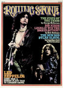 Jimmy Page and Robert Plant, Rolling Stone no. 182, March 1975 Photographic Print by Neal Preston